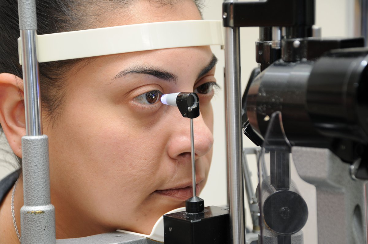Intraocular Pressure test