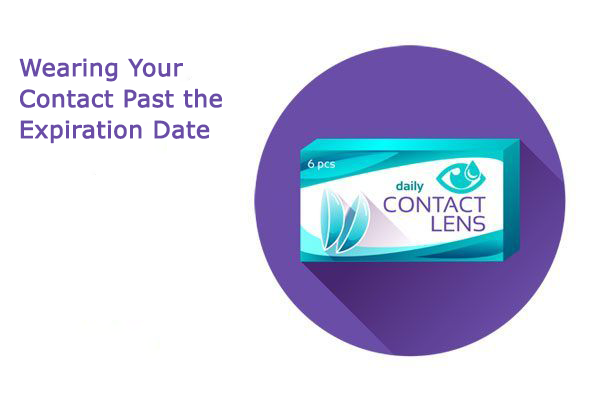 Contacts expiration date