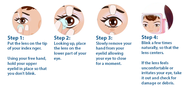 contact-lens-wearing