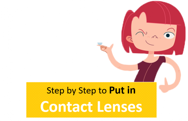 contact lens wearing