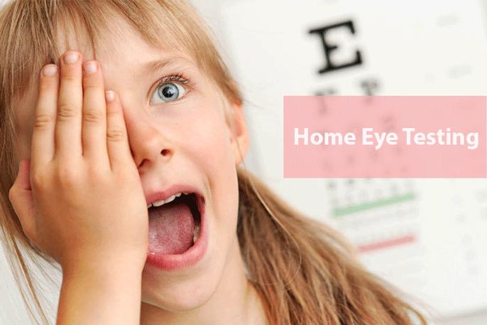 home eye testing